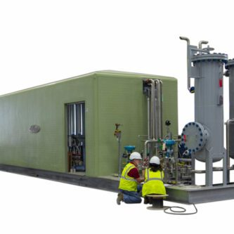 Biogas Cleaning Skid